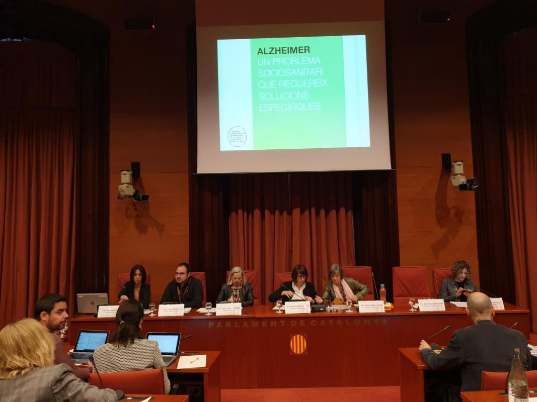 FAFAC al Parlament de Catalunya